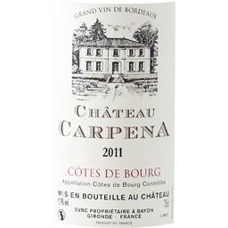 Côtes de Bourg - Grand Vin de Bordeaux, vin rouge