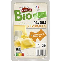 Ravioli 3 fromages BIO