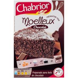 Préparation pour moelleux au chocolat