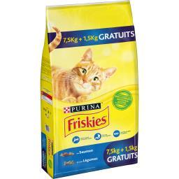 Friskies Croquettes lapin et poulet pour chats le sac de 7,5 kg