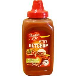 Ketchup allégé en sucres