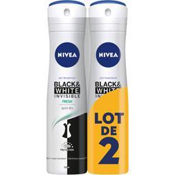 Anti-transpirant Invisible For Black & White