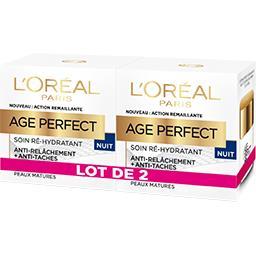 Age Perfect - Soin ré-hydratant nuit peaux matures