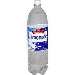 Limonade, boisson gazéifiée aromatisée avec édulcorants