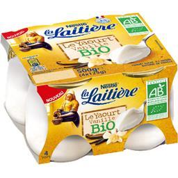 Nestlé La Laitière Yaourt vanille BIO