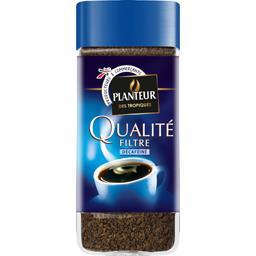Café soluble décaféiné Qualité Filtre