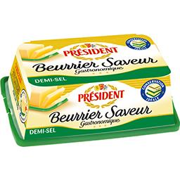 Président Beurrier Saveur 80% MG demi-sel