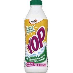Yop - Yaourt à boire parfum ananas-pêche-céréales
