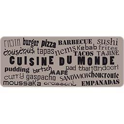Décor de cuisine 50 x 120 cm Cuisine du Monde
