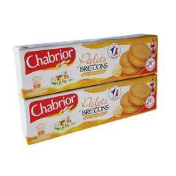 Chabrior Palets bretons les 2 paquets de 125 g