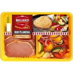 Bigard Duo Plancha lomos provençale & légumes à griller la barquette de 240 g