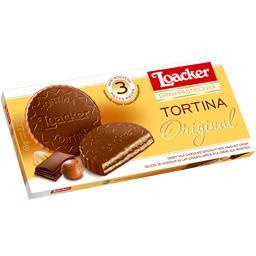 Biscuits Tortina chocolat au lait et crème de noisettes