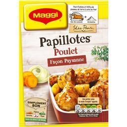Papillotes - Assaisonnement poulet recette façon pay...