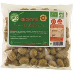 Les artisans du bio Gnocchi tomate basilic BIO Le sachet de 300 gr