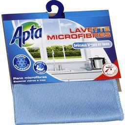 Lavette microfibres spéciale vitres et inox