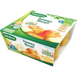 Dessert pommes biscuit, dès 6 mois