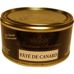 Miquel Pâté de canard la boite de 190 g