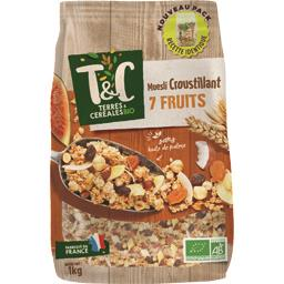 Muesli croustillant 7 fruits