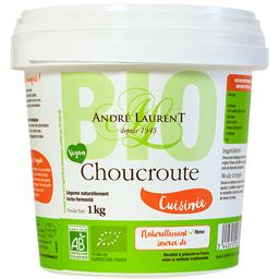 Choucroute cuisinée BIO