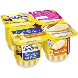 Nestlé La Laitière Semoule au lait saveur vanille