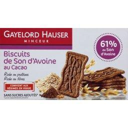 Biscuits de son d'avoine au cacao - Minceur