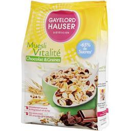 Gayelord Hauser Muesli Vitalité chocolat & graines