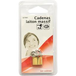 Cadenas laiton massif 15mm