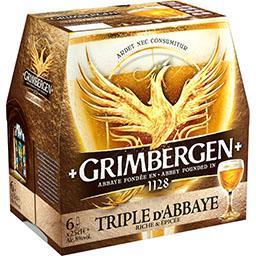 Bière triple d'abbaye