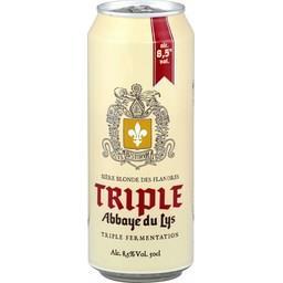 Bière blonde triple Abbaye du Lys