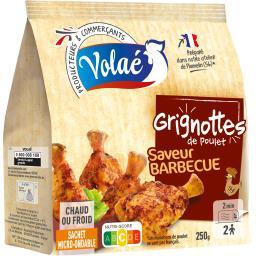 Grignottes de poulet barbecue