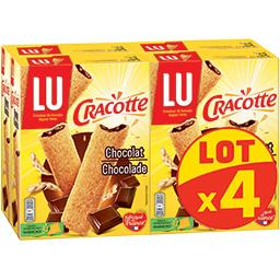 LU LU Cracotte - Bâtonnets de céréales chocolat
