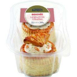 Bouchée langoustines crevettes