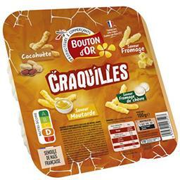 Biscuits apéritif Craquilles 4 saveurs
