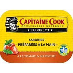 Sardines à la tomate et au pistou