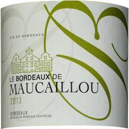 Bordeaux Le Bordeaux de Maucaillou vin Blanc sec 201...