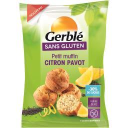 Sans Gluten - Petits muffins citron pavot