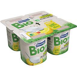 Yaourt au citron au lait entier BIO