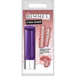 Rimmel London Rouge à lèvres Hydra Renew 220 Heather Shimmer le tube de 4 g