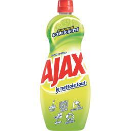 Ajax Nettoyant ménager 'Je nettoie tout' fraîcheur citron