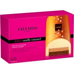 Fauchon bûche vanille caramel 400g