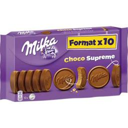 Gaufrettes Choco Suprême chocolat au lait