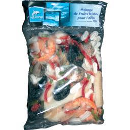 Mélange de fruits de mer pour paëlla