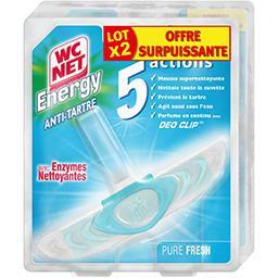 WC Net Energy - Bloc WC anti tartre Pure Fresh
