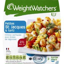WeightWatchers Petites St jacques & Torti