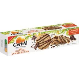 Sablé chocolat graines de chia