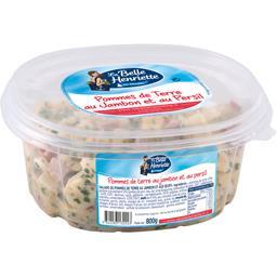 La Belle Henriette Pommes de terre au jambon et au persil la barquette de 800 g