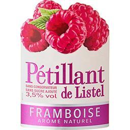 Vin pétillant de Listel arôme framboise