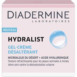 Diadermine Hydralist - Gel crème désaltérant le pot de 50 ml