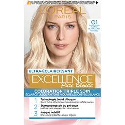 Excellence Crème 01 blond ultra clair naturel