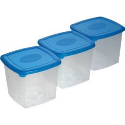 Boîtes 0,75l coloris bleu